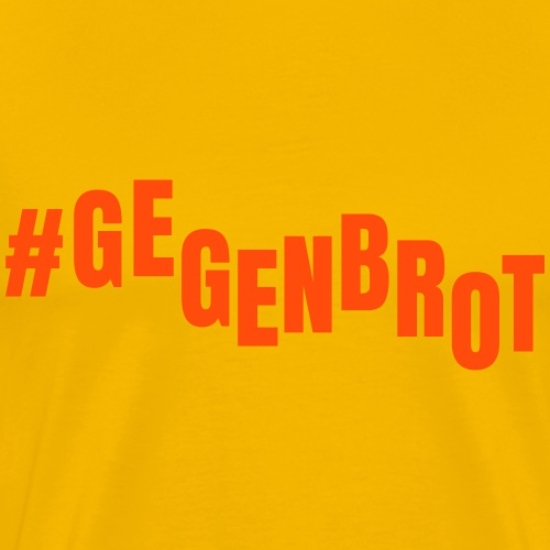 GEGENBROT - Männer Premium T-Shirt