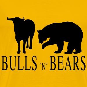 Bulls and Bears - Männer Premium T-Shirt