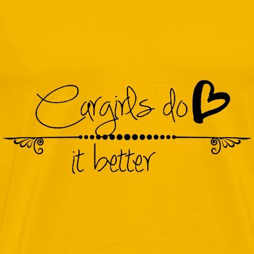 Cargirl do it better - Männer Premium T-Shirt