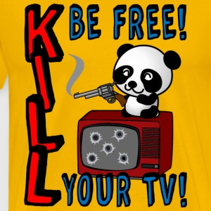 Kill your TV - Männer Premium T-Shirt