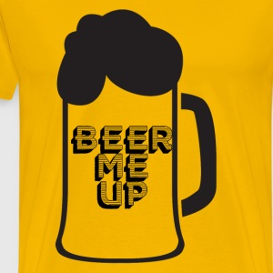 Beer - Beer me up! - Men's Premium T-Shirt