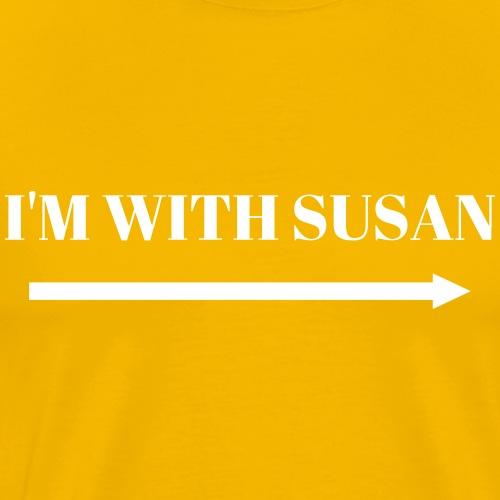 Im with susan - Men's Premium T-Shirt