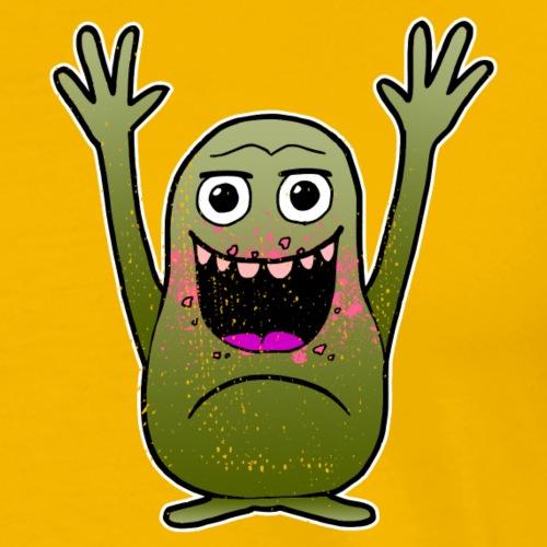 lustiges Monster - Geschenk für Eltern und Kind - Männer Premium T-Shirt