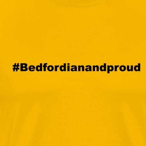 Hashtag Bedford - Men's Premium T-Shirt