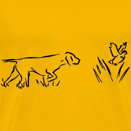 Seisoja - Miesten premium t-paita
