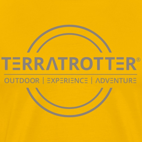 Terratrotter® | Taupe - Men's Premium T-Shirt