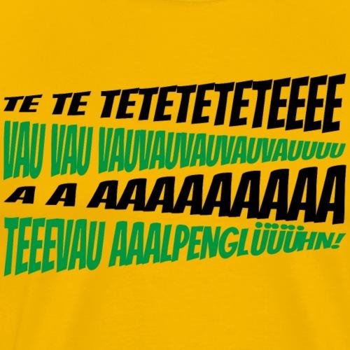 TeTeTeVA - Männer Premium T-Shirt
