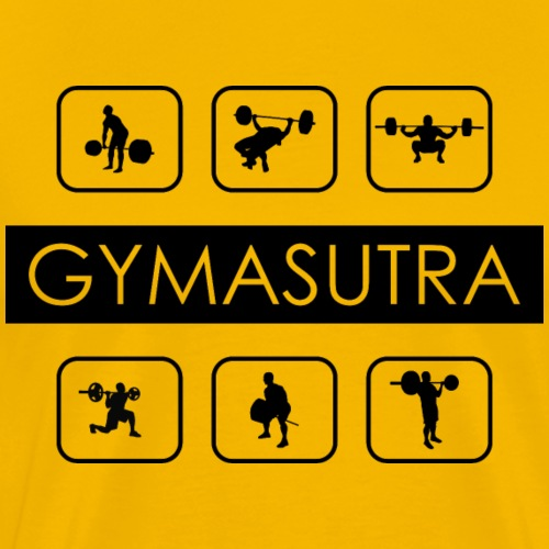 Gymasutra - Männer Premium T-Shirt