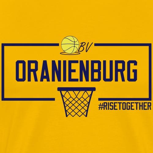 Oranienburg Blau - Männer Premium T-Shirt