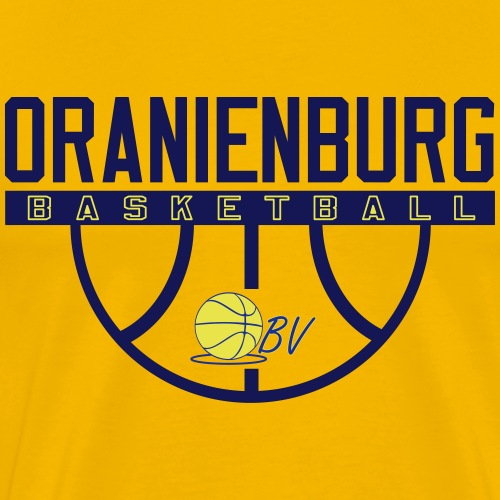 Oranienburg Basketball - Basketball - Männer Premium T-Shirt