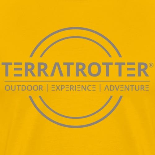 Terratrotter® | Taupe - Men's Premium T-Shirt