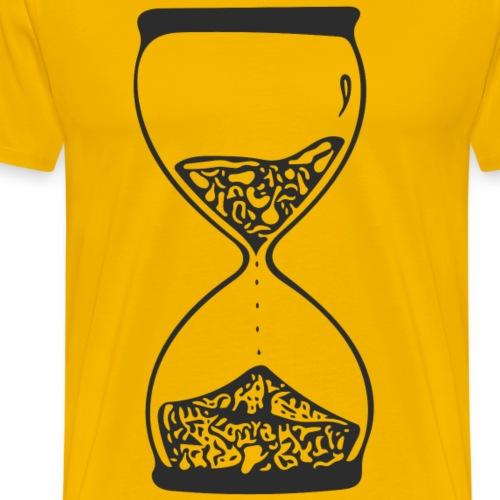Sanduhr - Männer Premium T-Shirt