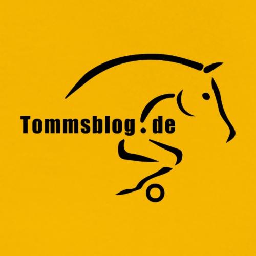 tommsblog logo 300dpi schwarz - Männer Premium T-Shirt