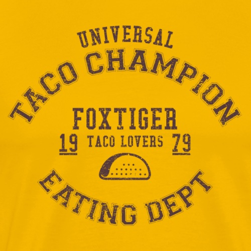 TACO CHAMPION - Men's Premium T-Shirt