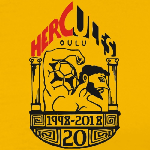 Hercules 20v. - Miesten premium t-paita