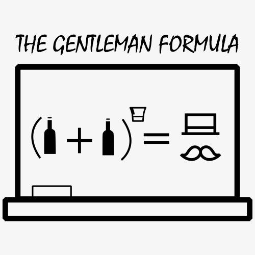 The gentleman formula - Männer Premium T-Shirt