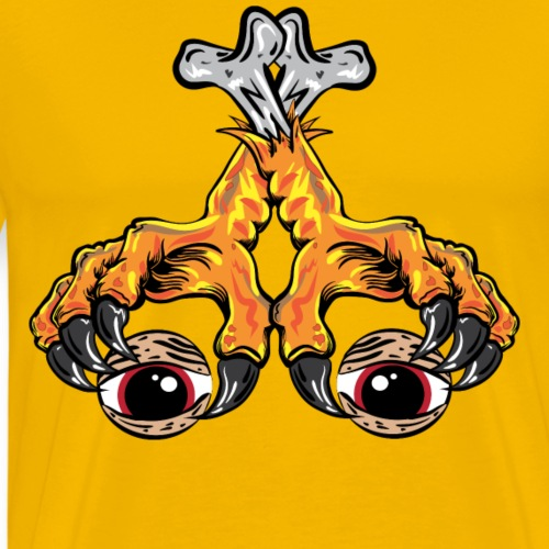 chicken - Camiseta premium hombre