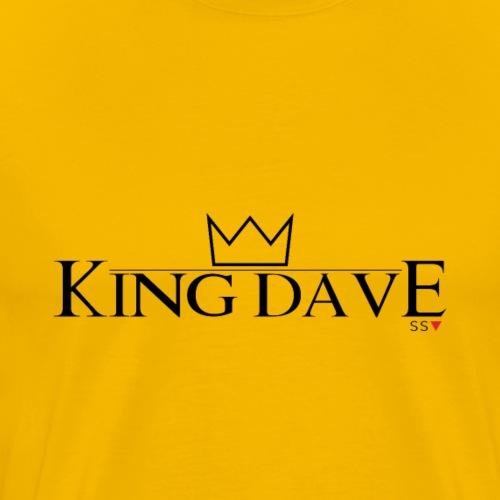 King Dave (For light colours) - Men's Premium T-Shirt