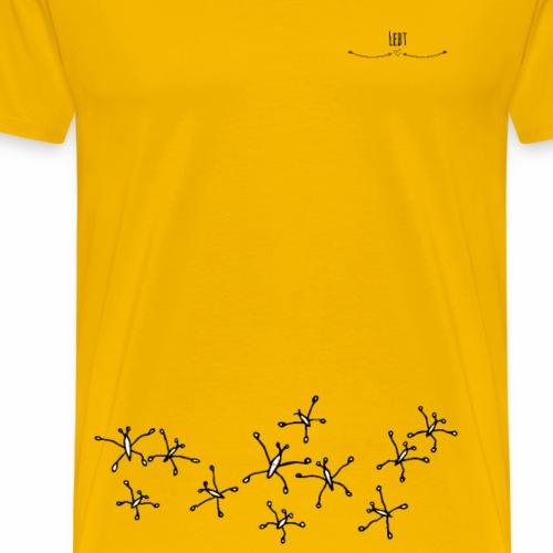 Wasserläufer- Eleganter Tänzer - Männer Premium T-Shirt