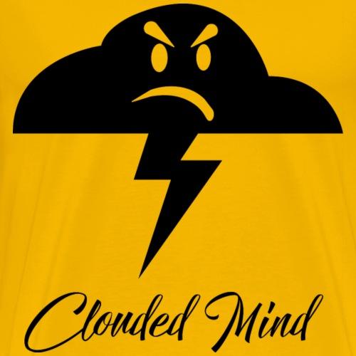 CM1-ALL-BLK - T-shirt Premium Homme