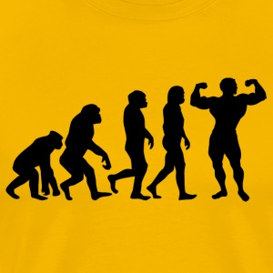 ++ ++ BODYBUILDING EVOLUTION - Men's Premium T-Shirt