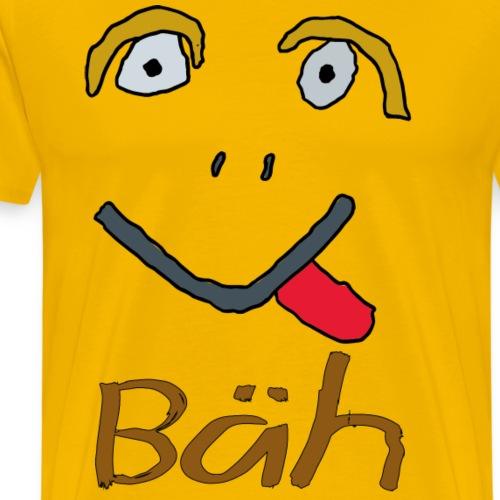 Gesicht Baeh - Männer Premium T-Shirt