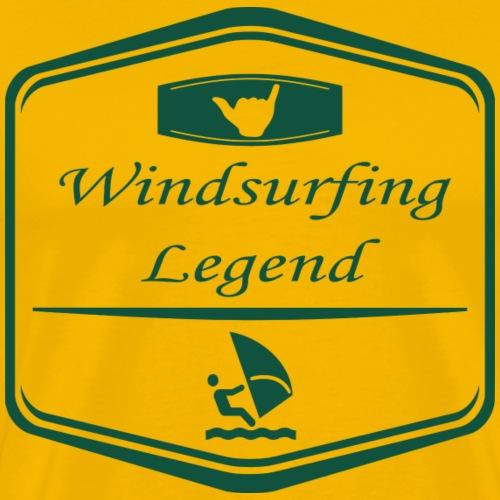 Windsurfing Legend! - Männer Premium T-Shirt