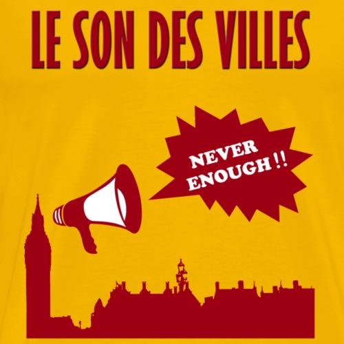 Le Son Des VIlles : Noise - T-shirt Premium Homme