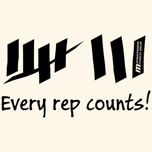 Every rep counts - Männer Premium T-Shirt