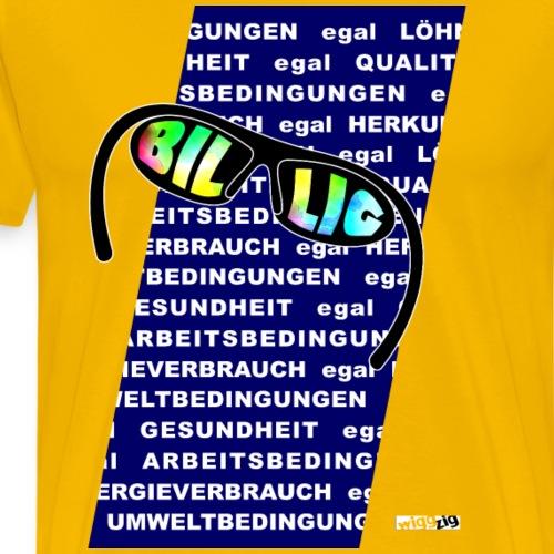 billig1 - Männer Premium T-Shirt