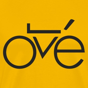 BIKE LOVE - Premium T-skjorte for menn