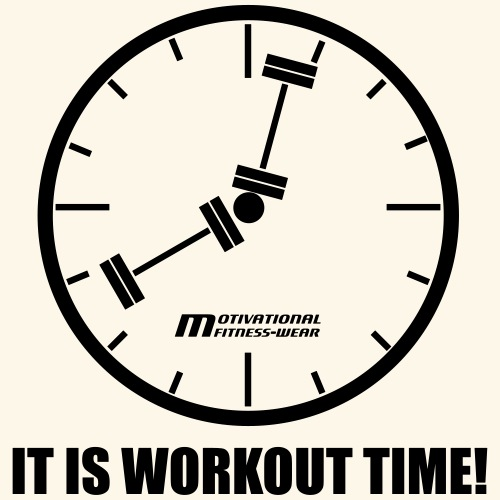 It is workout time! - Männer Premium T-Shirt