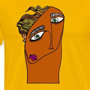 Windy Days- colored - Premium T-skjorte for menn