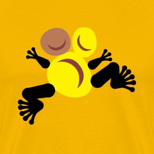 Frog golfer Totem - T-shirt Premium Homme