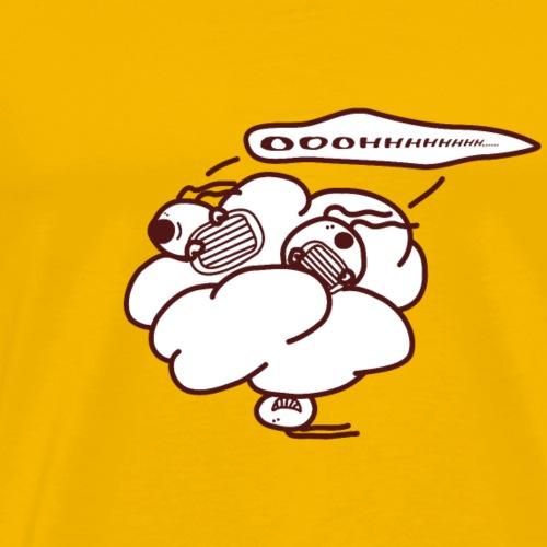 OhOhOh - Die singenden Eier im Himmel - Männer Premium T-Shirt