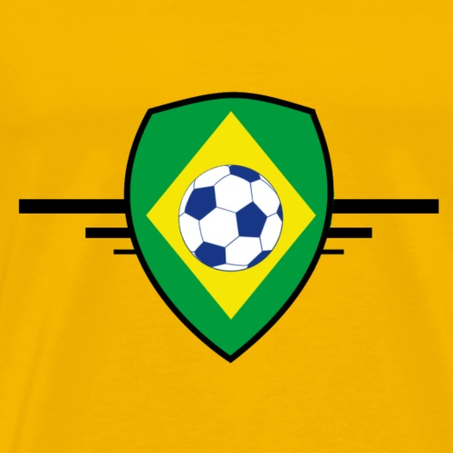 Brazil football - T-shirt Premium Homme