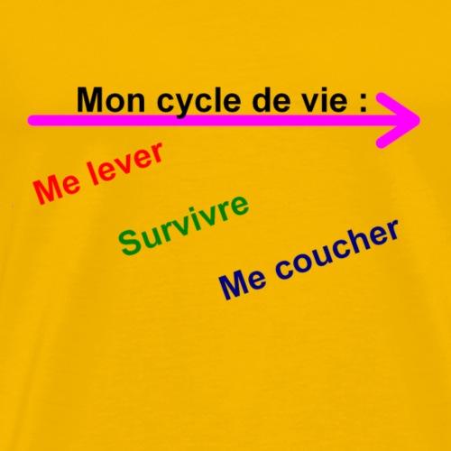 cycle de vie - T-shirt Premium Homme