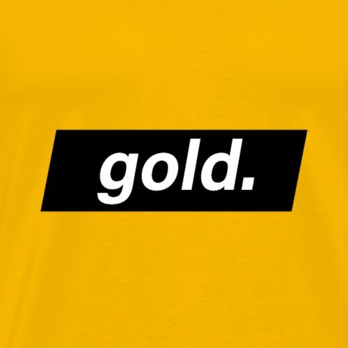 gold - T-shirt Premium Homme