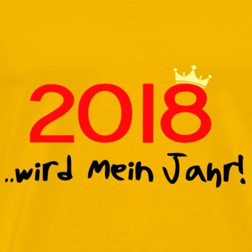 2018 - Männer Premium T-Shirt