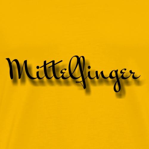 Mittelfinger - Männer Premium T-Shirt