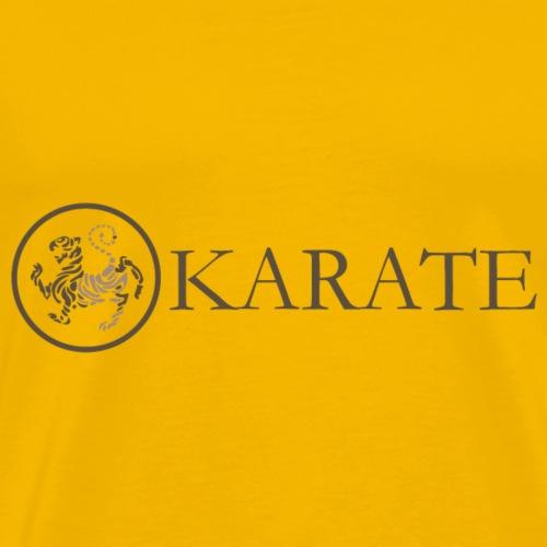karate karate logo - Camiseta premium hombre