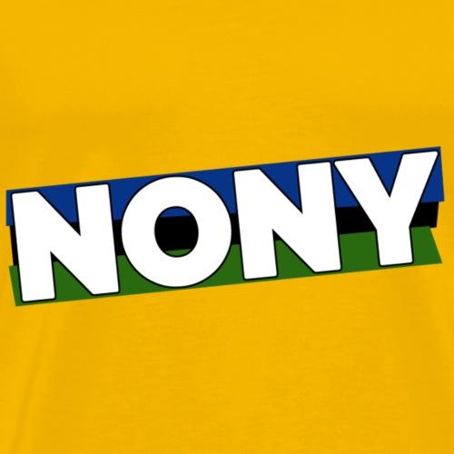 Nony: Logo - Männer Premium T-Shirt