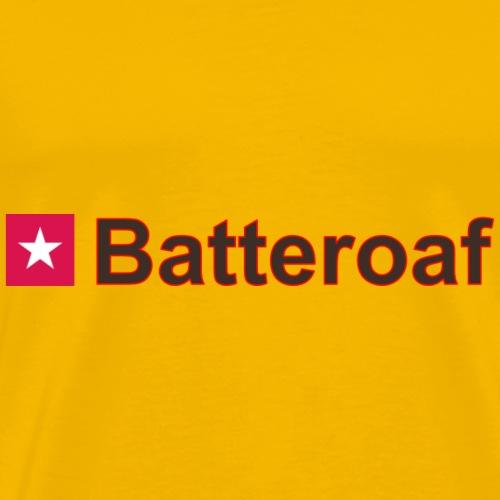 Batteraof w1 rhk b - Mannen Premium T-shirt