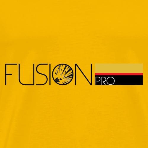 FUSION Pro Official Text Logo - Men's Premium T-Shirt