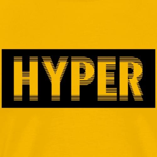 hyperblack - Männer Premium T-Shirt