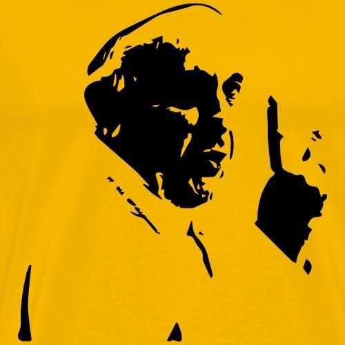 papst peace - Männer Premium T-Shirt