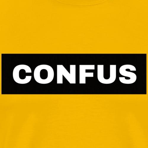 CONFUS - Mannen Premium T-shirt