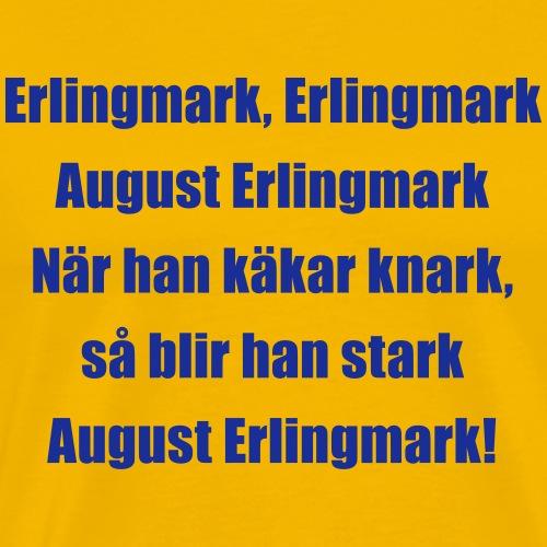 Lill-Erling Blå - Premium-T-shirt herr