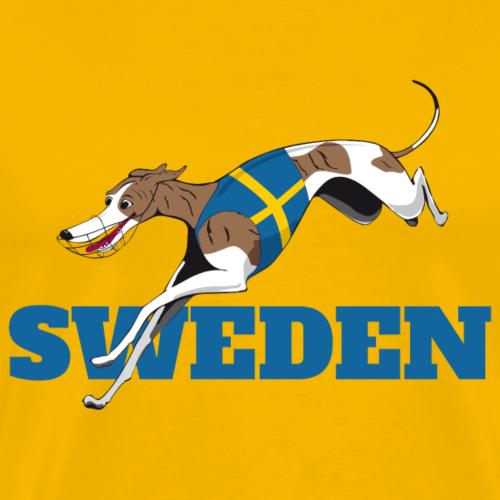 LC SWEDEN DRIVA - Premium-T-shirt herr