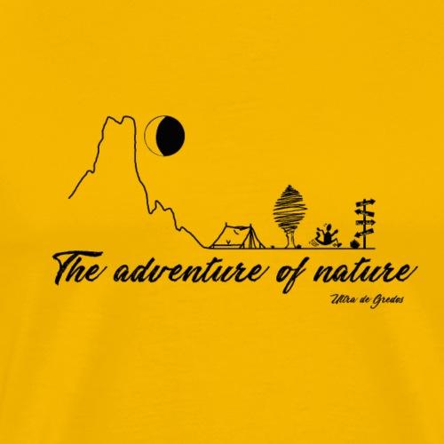 The adventure of nature - Camiseta premium hombre
